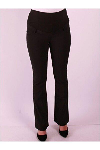 Işşıl Kadın Bej Hamile Giyim Power Streç Ispanyol Pantolon