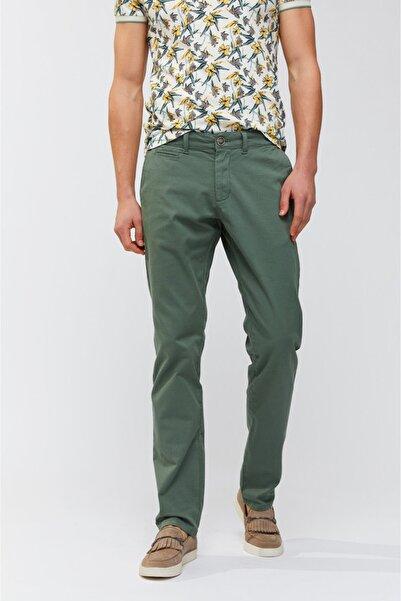 Avva Erkek Yeşil Yandan Cepli Düz Slim Fit Pantolon A91b3556