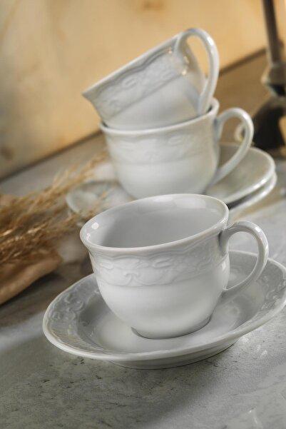 Kütahya Porselen Lalezar 12 Parça Çay Takımı