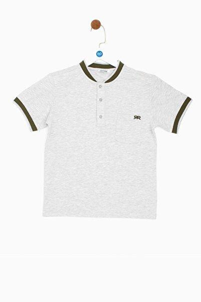 Riccione Erkek Çocuk Gri Melanj T-shirt 19ss0rr3507