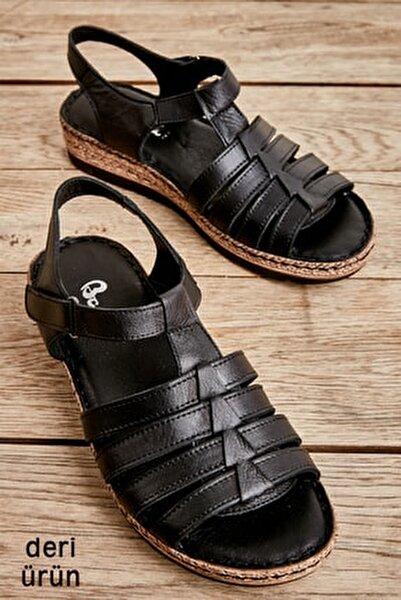 Sıyah Kadın Sandalet L0586107003