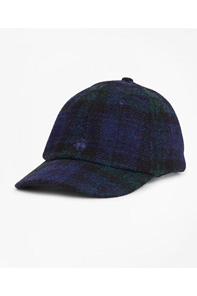 BROOKS BROTHERS Erkek Çok Renkli Ekose Beyzbol Şapkası