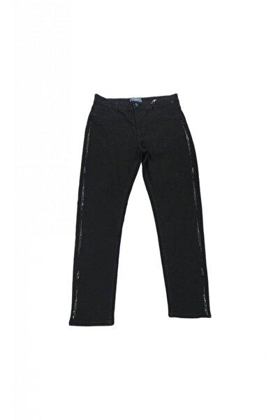 Femina Kadın Taş Detaylı Pant Jean