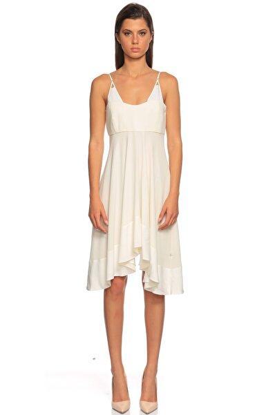 PHILOSOPHY FERRETTI Askılı Beyaz Elbise
