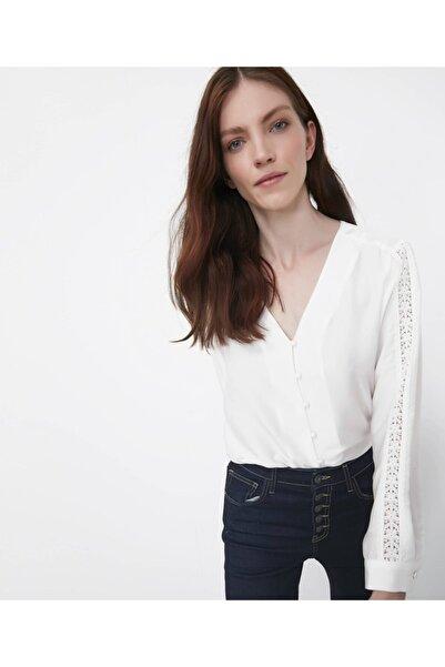 İpekyol Güpür Şeritli Bluz