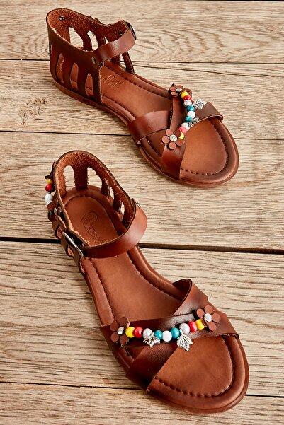 Bambi Kahve Kadın Sandalet L0529019509