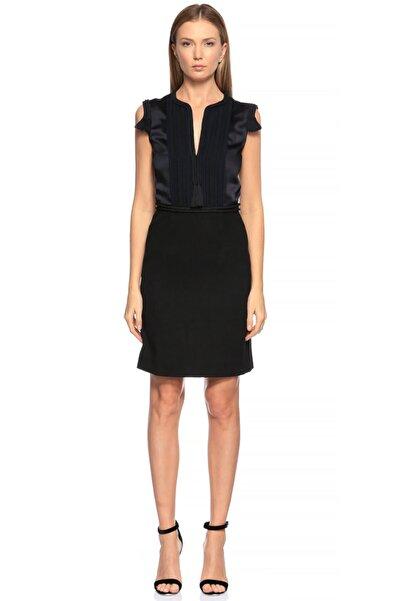 Lanvin Püskül Detaylı Siyah Elbise