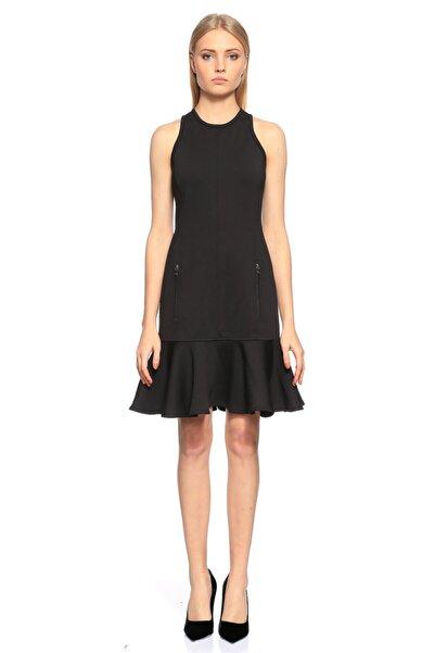 Lanvin Kolsuz Siyah Elbise