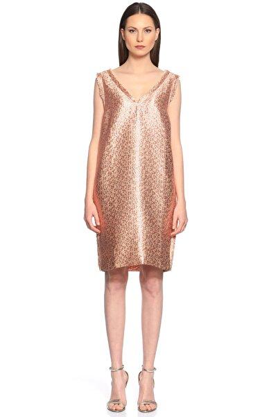 Lanvin Karma Desen Pembe Elbise