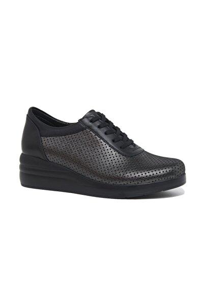 Desa Siyah Tiny Kadın Deri Spor Ayakkabı