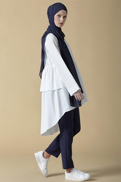 Armine Bluz 19ka3714 Beyaz