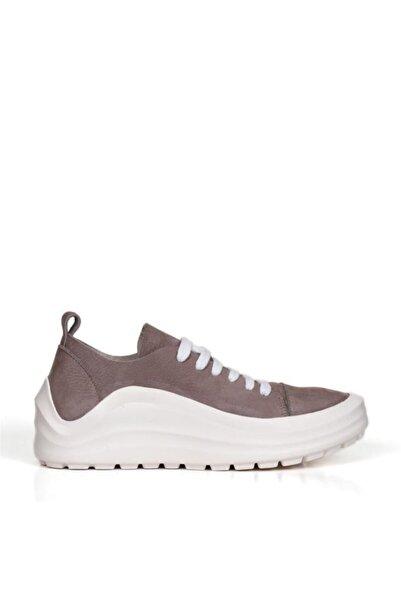 BUENO Shoes Hakiki Deri Bağcık Detaylı Kadın Spor Ayakkabı 20wq7600
