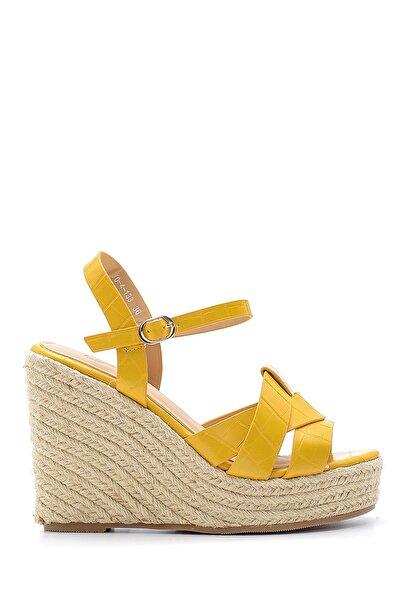 Derimod Kadın Dolgu Topuklu Sandalet