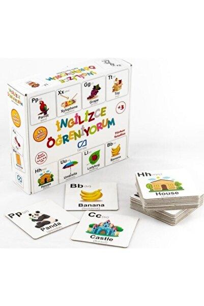 CA Games Ingilizce Öğreniyorum - Eğitici Oyun Kartları - Null