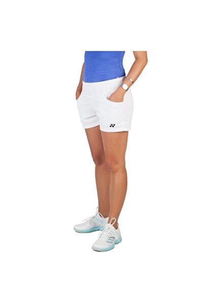 YONEX 25013 Beyaz Kadın Tenis Şortu
