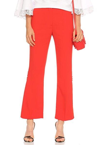 MSGM Çiçek Desenli Kırmızı Pantolon