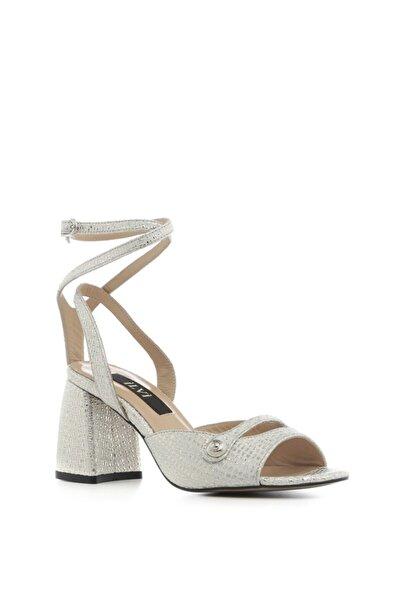 İLVİ Regaton Bayan Sandalet Altın Deri