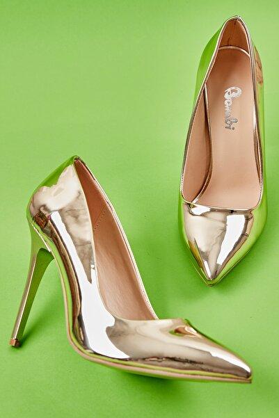 Bambi Altın Kadın Ayakkabı L0596177039