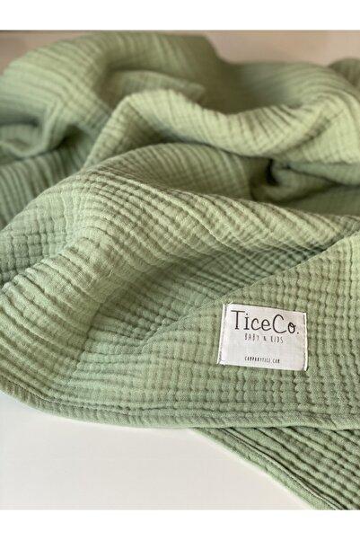 ticecompany Tice Co. %100 Pamuk Four Battaniye (4 KAT MÜSLİN) 110x120 Cm