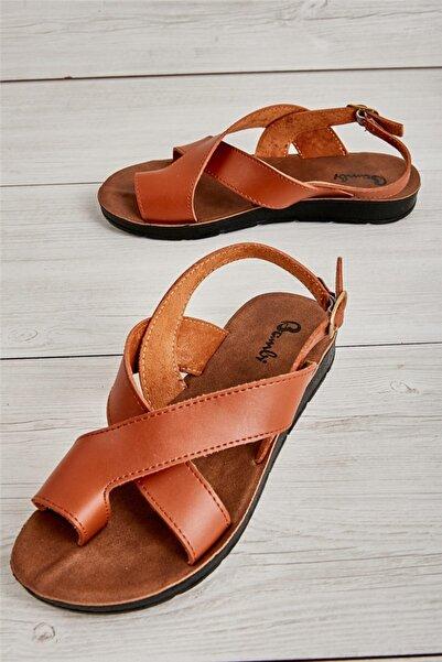 Bambi Taba Kadın Sandalet L0642111109