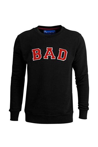 Bad Bear Erkek Sweatshirt Bad Convex Siyah 19.02.12.003