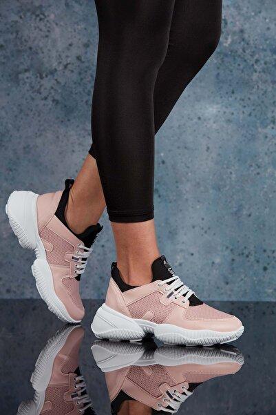 DARK SEER Pudra Kadın Sneaker