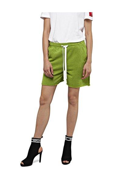 Replay Pantaloncino Lurex Fleece