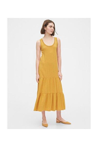 GAP Askılı Maxi Elbise