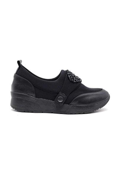 MT M&t 9601 Kadın Günlük Ayakkabı-siyah