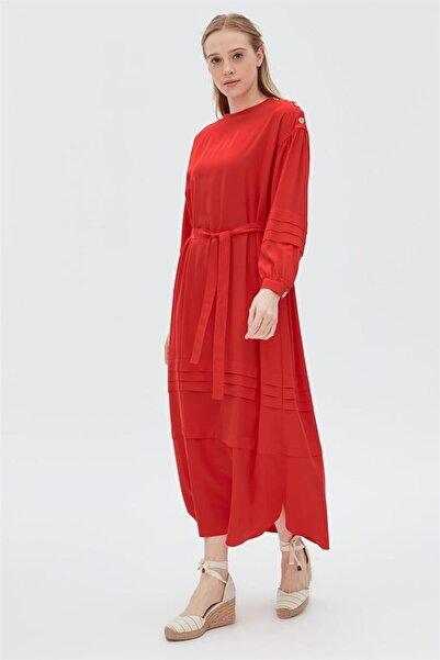 Kayra Elbise-kırmızı Ka-b20-23006-19