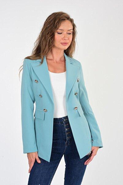 For Angels Badem Yeşili Blazer Ceket 201832136