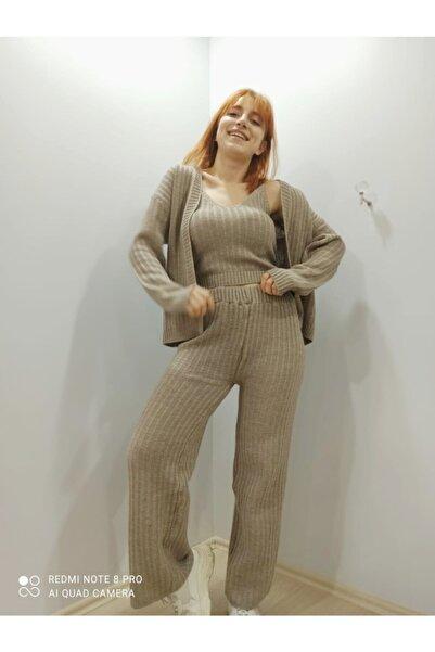 SaRa 3'lü Örme Pantolon Takım