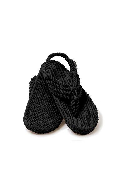 Nomadic State Of Mind - Jester Siyah Hasır Ip Sandalet