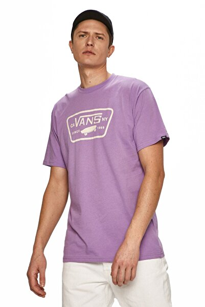 Vans Erkek  Mor Full Patch T Shirt Vn000qn8z711