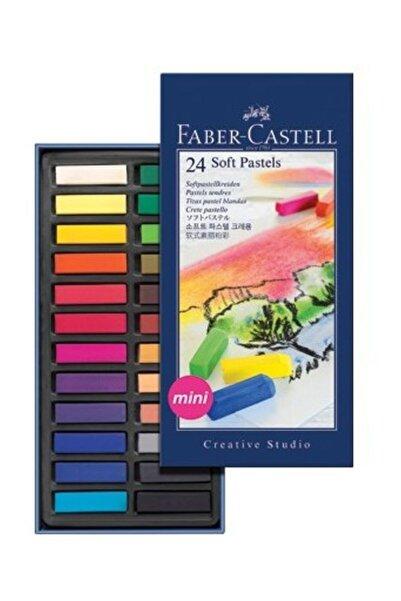 Faber Castell Creative Studio Mini Toz Pastel Boya (Soft) 24 Renk Yarım Boy