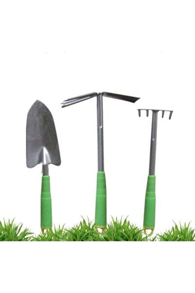 HomeCare Bahçe Kürek Çapa Tırmık Seti 422590