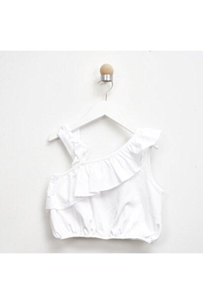 Panço Kız Çocuk Beyaz T-Shirt 2111gk15012
