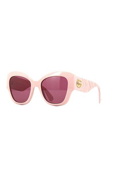 Gucci Kadın Pembe Güneş Gözlüğü Gg0808s 003
