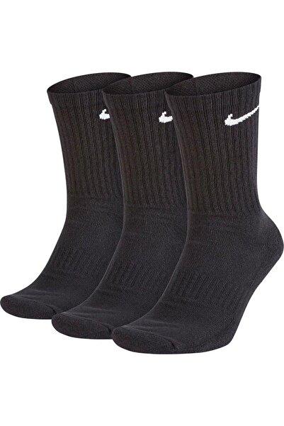 Nike Sx7676-010 U Nk Everyday Ltwt Crew 3pr 3lü Spor Çorap