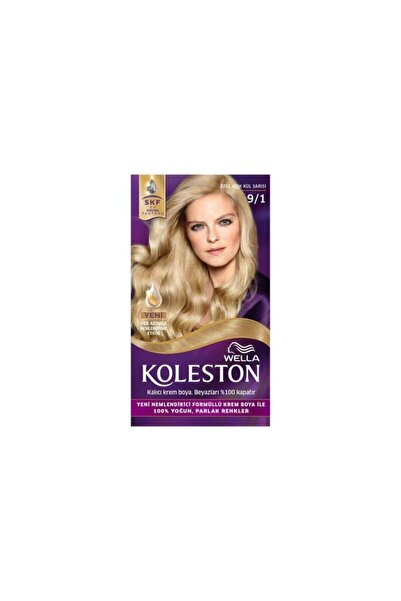 Koleston Set Krem Saç Boyası 9.1 Özel Açık Kül Sarısı