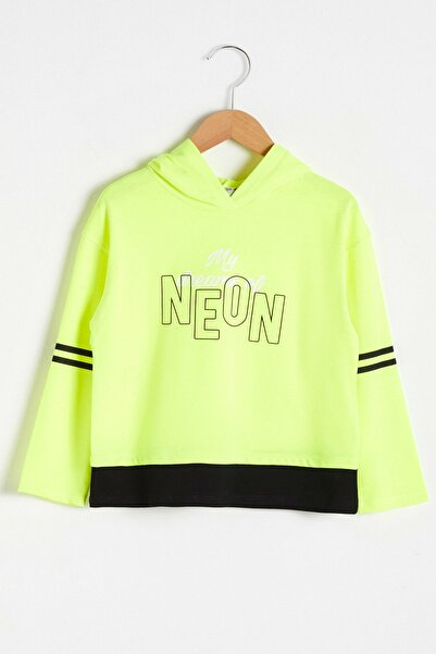 LC Waikiki Kız Çocuk Neon Sarı Q0H T-Shirt