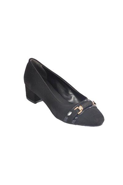 Maje Kadın Siyah Süet Topuklu Ayakkabı