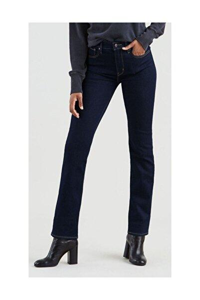 Levi's Kadın Mavi 724 High Rise Straight Jeans
