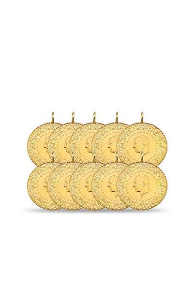 Maygold Yeni 10 Adet Çeyrek Altın