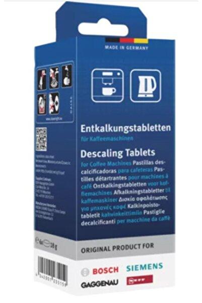 Bosch Kahve Makineleri Ve Su Isıtıcıları Için Kireç Çözücü Tablet