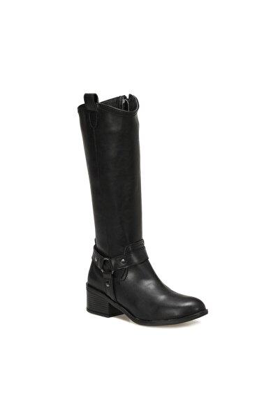 Polaris 316353.Z Siyah Kadın Ökçeli Çizme 100562694