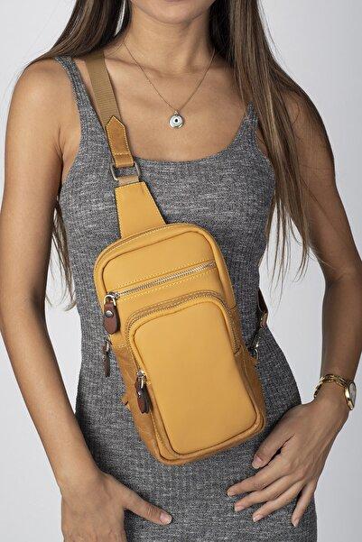 Jacquline Kadın Sarı  Body Bag