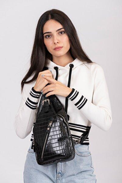 Jacquline Kadın Siyah Body Bag