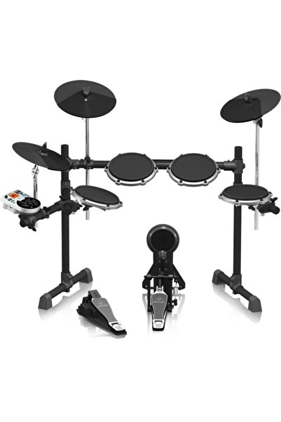 Behringer Xd80usb High-performance 8piece Electronic Drum Set With 175 Sounds, 15drum Sets,