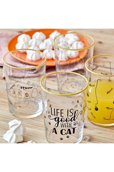 Bella Maison Cats Meşrubat Bardağı 4′lü (510 Cc)